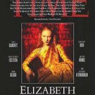 Elizabeth Double Sided Original Movie Poster 27x40  inches