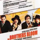 Brothers Bloom Double Sided Original Movie Poster 27x40 inches
