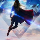 Supergirl Tv Show  Poster Style a 13x19 inches