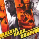 Never Back Down Original Movie Poster Double Sided 27x40 inches