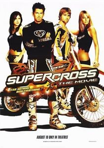 Supercross Double Sided Original Movie Poster 27x40 inches