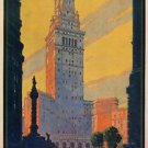 the New Union Terminal Cleveland Travel poster13x19 inches