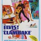 Clambake Elvis Presley Poster  13x19