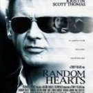 Random Hearts Double Sided Original Movie Poster 27x40 inches