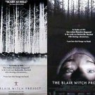 Blair Witch Project Dvd Double Sided Original Movie Poster 27x40 inches