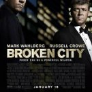 Broken City Double Sided Original Movie Poster 27x40 inches