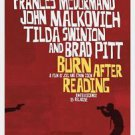 Burn After Reading Double Sided Original Movie Poster 27x40 inches