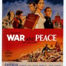 War and Peace Style A Movie Poster 13x19 inches