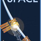 Fly to Space  Poster 13x19