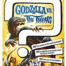 Mothra vs. Godzilla Movie Poster 13x19 inches