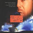 Striking Distance Original Movie Poster Single Sided 27x40 inches