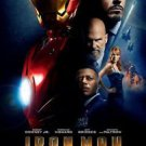 "Iron Man Final Two Sided 27""x40' inches Original Movie Poster by Marvel"