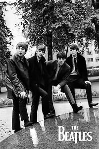 Beatles  Style B  Poster 13x19 inches