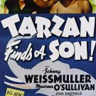 Tarzan Finds a Son Johnny Weiss Mueller  Movie Poster 13x19