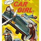 Hot Car Girl Style B Movie Poster 13x19