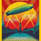 Led Zeppelin Live From London  Poster 13x19 inches