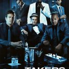 Takers Blue  Original Movie Poster Double Sided 27X40