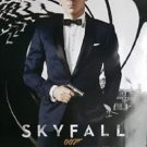 "Skyfall October Regularl Two Sided 27""x40' inches Original Movie Poster J.Bond"