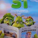 Planet 51 Regular Double Sided Original Movie Poster 27x40 inches