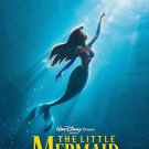 Little Mermaid Advance Double Sided Original Movie Poster 27 x40