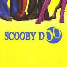 Scooby Doo Advance C (Yellow) Double Sided Original Movie Poster 27x40 inches