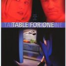 Table For One One Sided Original Movie Poster 27x40 inches