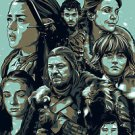Games of the Thrones A Tv Show Poster 13x19 inches