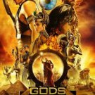 Gods of Egypt Final  Original  Movie Poster Two Sided 27x40 inches
