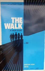 "Walk the  Two Sided 27""x40' inches Original Movie Poster Robert Zemeckis Films"