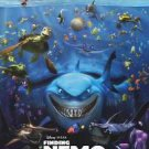 Finding Nemo 3D in Cinema Double Sided Original Movie Poster 27x40 inches