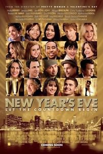 New Year's Eve Double Sided Orignal Movie Poster 27x40 inches