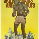 Muhammad Ali Skills and Brains Poster 13x19 inches