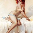Elvgren Bedside Manner A Poster 13x19 inches