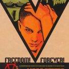 V For Vendetta Advance A  Single Sided Original Movie Poster 27x40 inches