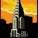 Vintage New York Retro Travel Advertisement poster 13x19 inches