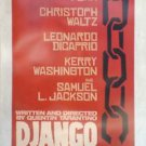 Django Advance A Double Sided Original Movie Poster 27x40 inches