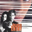 Unlawful Entry  Double Sided Original Movie Poster 27x40