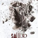 Saw 3D Regular Double Sided Original Movie Poster 27x40 inches