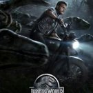 """Jurassic World Advance B  2015 Two  Sided 27""""x40' inches Orig Movie Poster"""