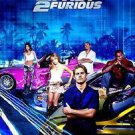 """2 Fast 2 Furious Intl Two Sided 27""""x40' inches Original Movie Poster"""
