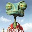 Rango Advance Double Sided Original Movie Poster 27x40 inches