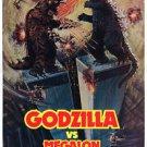 Godzilla vs. Megalon Movie Poster 13x19 inches