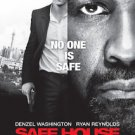 Safe House Regular Double Sided Orignal Movie Poster 27x40 inches