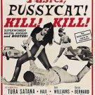 Faster Pussycat! Kill! Kill! Movie Poster 13x19 inches