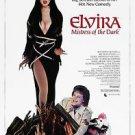 Elvira Mistress of the Dark Cassandra Peterson Poster Style H 13x19