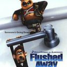 Flushed Away Advance A Double Sided Original Movie Poster 27x40 inches