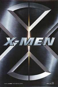 X-Men  Advance A Double Sided Original Movie Poster 27x40 inches