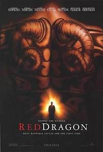 Red Dragon Advance Double Sided Original Movie Poster 27x40 inches