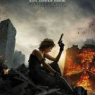 Resident Evil: The Final Adv Chapter Double Sided Original Movie Poster 27x40