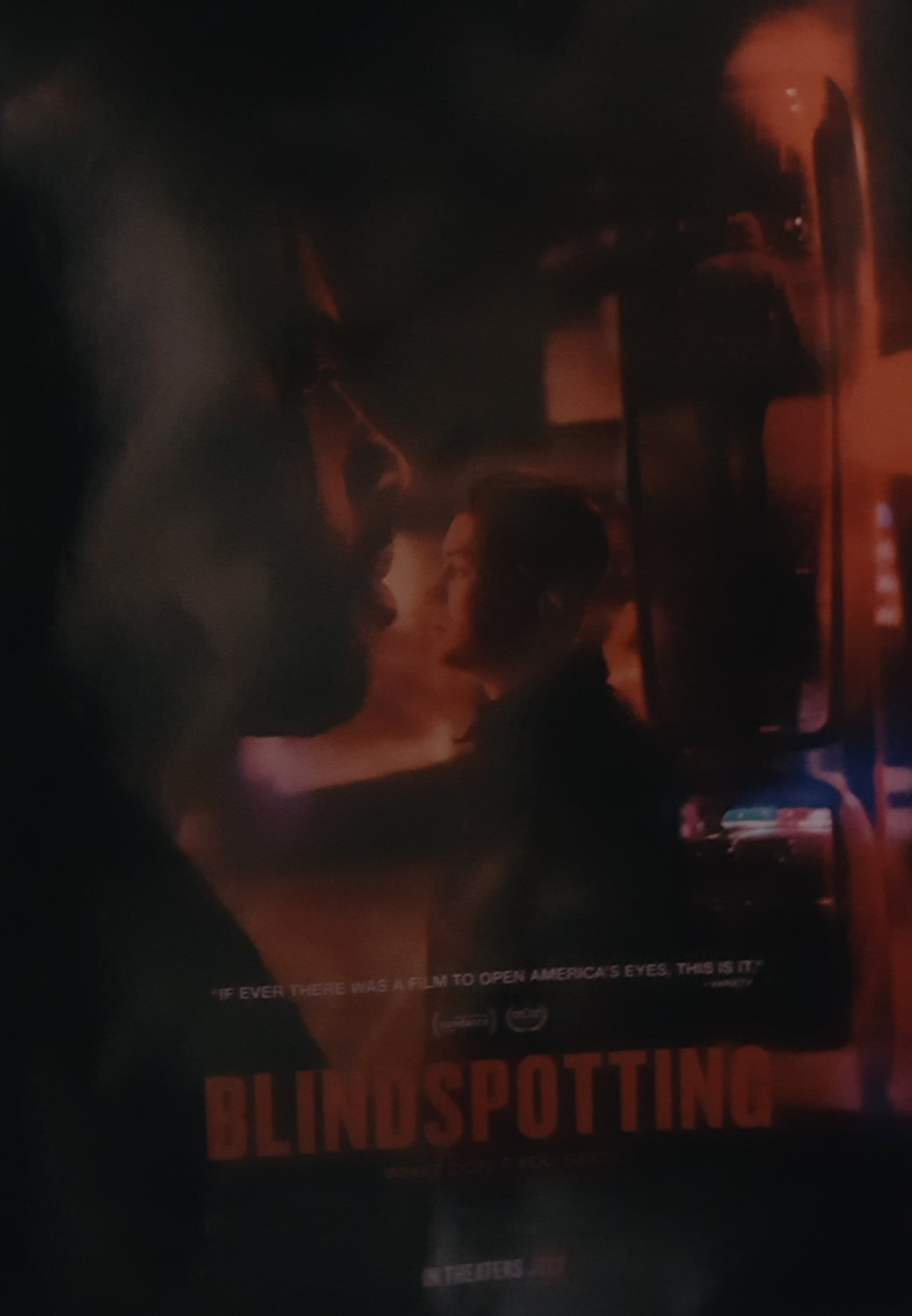 Blindspotting Advance Version B Double Sided  Original Movie Poster  27X40